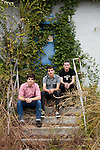October 18, 2010. Chapel Hill, NC.. The band Last Year's Men, photographed in Chapel Hill, North Carolina..