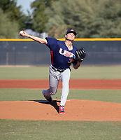 Tanner Houck - USA Baseball Premier 12 Team - October 25- 28, 2019 (Bill Mitchell)