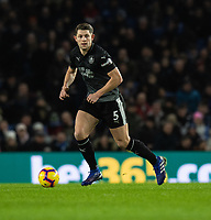 Burnley's James Tarkowski<br /> <br /> Photographer David Horton/CameraSport<br /> <br /> The Premier League - Brighton and Hove Albion v Burnley - Saturday 9th February 2019 - The Amex Stadium - Brighton<br /> <br /> World Copyright © 2019 CameraSport. All rights reserved. 43 Linden Ave. Countesthorpe. Leicester. England. LE8 5PG - Tel: +44 (0) 116 277 4147 - admin@camerasport.com - www.camerasport.com