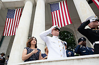 Memorial Day ceremony at Arlington National Cemetery | May 28, 2018 (Official White House Photo by Andrea Hanks)