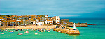 Coastal town of St Ives