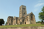 Wedmore Somerset Uk. St Mary church. 2012.