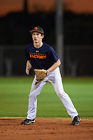 Hunter Graham (47), from Castle Rock, Colorado, while playing for the Astros during the Under Armour Baseball Factory Recruiting Classic at Gene Autry Park on December 27, 2017 in Mesa, Arizona. (Zachary Lucy/Four Seam Images)