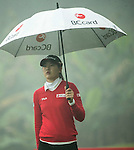 Jung Min Lee of South Korea at the 13th hole during Round 4 of the World Ladies Championship 2016 on 13 March 2016 at Mission Hills Olazabal Golf Course in Dongguan, China. Photo by Victor Fraile / Power Sport Images