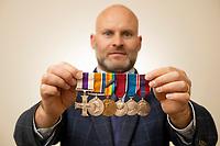 War medals of former British Prime Minister Anthony Eden have emerged for sale for £10,000.