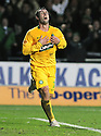 21/12/2008  Copyright Pic: James Stewart.File Name : sct_jspa09_falkirk_v_celtic.SCOTT MCDONALD CELEBRATES AFTER HE SCORES CELTIC'S THIRD.James Stewart Photo Agency 19 Carronlea Drive, Falkirk. FK2 8DN      Vat Reg No. 607 6932 25.Studio      : +44 (0)1324 611191 .Mobile      : +44 (0)7721 416997.E-mail  :  jim@jspa.co.uk.If you require further information then contact Jim Stewart on any of the numbers above.........
