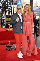 LOS ANGELES, CA. October 10, 2019: Tommy Hilfiger & Dee Ocleppo Hilfiger  at the Hollywood Walk of Fame Star Ceremony honoring Tommy Mottola.<br /> Pictures: Paul Smith/Featureflash