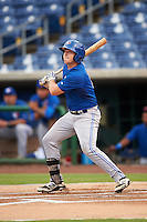GCL Blue Jays catcher Ryan Gold (6) at bat during a game against the GCL Phillies on August 16, 2016 at Bright House Field in Clearwater, Florida.  GCL Blue Jays defeated GCL Phillies 2-1.  (Mike Janes/Four Seam Images)