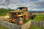 Old Canol Road Army truck