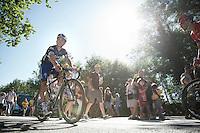 Julian Alaphilippe (FRA/Etixx-QuickStep) rolling in after the stage<br /> <br /> st14: Montélimar - Villars-les-Dombes/Parc des Oiseaux (208.5km)<br /> 103rd Tour de France 2016