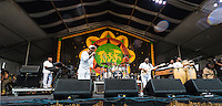 Maze performs at Jazz Fest 2016.