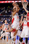 Real Madrid's Anthony Randolph during Turkish Airlines Euroleage match between Real Madrid and EA7 Emporio Armani Milan at Wizink Center in Madrid, Spain. January 27, 2017. (ALTERPHOTOS/BorjaB.Hojas)