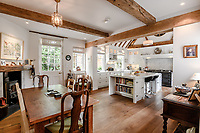 BNPS.co.uk (01202) 558833<br /> Picture: Strutt&Parker/BNPS<br /> <br /> Pictured: The kitchen<br /> <br /> A handsome Georgian townhouse where a former Prime Minister held important meetings is on the market for £1.5m.<br /> <br /> Glenhurst is a Grade II Listed home in Bewdley, Worcs, which was Stanley Baldwin's hometown.<br /> <br /> The owners have minutes from a meeting held at the property over a century ago which show Baldwin's name listed.<br /> <br /> Baldwin was Prime Minister three times between the First and Second World Wars and it is believed that during this time he used Glenhurst's wood-panelled dining room for meetings.