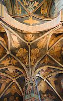 Europe/Pologne/Lublin: Le Chateau -Fresques russo-byzantines de la Chapelle de la Sainte-Trinité (1418)