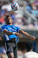 SAN JOSE, CA - AUGUST 8: Jeremy Ebobisse #11 of the San Jose Earthquakes during a game between Los Angeles FC and San Jose Earthquakes at PayPal Park on August 8, 2021 in San Jose, California.