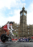 Wales Elinor Barker in action during the woman's Time Trial<br /> <br /> Photographer Ian Cook/Sportingwales<br /> <br /> 20th Commonwealth Games - Cycling -  Day 8 - Thursday 31st July 2014 - Glasgow - UK