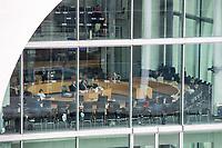 """Sitzung des Untersuchungsausschusses """"PKW-Maut"""" des Deutschen Bundestag am Donnerstag den 8. Oktober 2020.<br /> Der Ausschuss wurde zur Aufklaerung der Mautvertraege zwischen dem Verkehrsministerium unter Leitung von Andreas Scheuer (CSU) und den Firmen Kapsch und CTS Eventim eingerichtet.<br /> Der Maut-Untersuchungsausschuss soll das Verhalten der Regierung und besonders des Verkehrsministers bei der Vorbereitung und der Vergabe der Betreibervertraege """"umfassend aufklaeren"""".<br /> 8.10.2020, Berlin<br /> Copyright: Christian-Ditsch.de"""