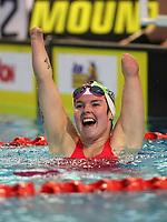 Nikita Howarth, 100m IM PARA World Record. Session 5. AON New Zealand Short Course Swimming Championships. Waterworld, Te Rapa, Hamilton. Friday 8 October 2020 Photo: Simon Watts/www.bwmedia.co.nz/SwimmingNZ
