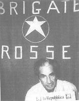 the italian politician Aldo Moro kidnapped by the Brigate Rosse (red brigade)