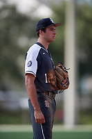 Trevor Werner during the WWBA World Championship at the Roger Dean Complex on October 20, 2018 in Jupiter, Florida.  Trevor Werner is a third baseman from Spring, Texas who attends Klein High School and is committed to Texas A&M.  (Mike Janes/Four Seam Images)