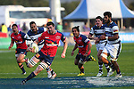 NELSON, NEW ZEALAND - SEPTEMBER 20:   Player  Name of the Tasman Makos  during the ITM Cup match between the Tasman Makos and Auckland at Lansdowne Park  on September 20, 2015 in Blenheim, New Zealand. (Photo by Evan Barnes/Shuttersport Limited/Getty Images)