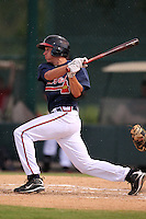 Atlanta Braves third baseman Nick Ahmed #38 during an Instructional League game against the Houston Astros at Wide World of Sports on September 28, 2011 in Kissimmee, Florida.  (Mike Janes/Four Seam Images)