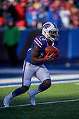 Buffalo Bills Isaiah McKenzie (19) catches a kickoff during an NFL football game against the New York Jets, Sunday, December 9, 2018, in Orchard Park, N.Y.  (Mike Janes Photography)