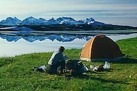 Lost Lake<br /> Kenai Mountains<br /> Chugach National Forest<br /> Alaska
