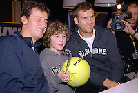 23-2-07,Tennis,Netherlands,Rotterdam,ABNAMROWTT, Autographsession with Pavel and Waske