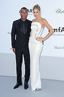 """Doutzen Kroes and guest attending the """"On the Road"""" Premiere during the 65th annual International Cannes Film Festival in Cannes, France, 23rd May 2012. Doutzen Kroes wore a Versace dress. ..Credit: Timm/face to face, / Mediapunchinc"""