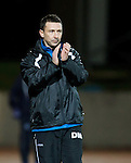 St Johnstone v Hamilton Accies....02.02.11  .Derek McInnes applauds his players.Picture by Graeme Hart..Copyright Perthshire Picture Agency.Tel: 01738 623350  Mobile: 07990 594431