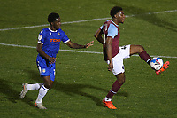 Oladapo Afolayan of West Ham United during Colchester United vs West Ham United Under-21, EFL Trophy Football at the JobServe Community Stadium on 29th September 2020