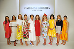 From left: Honorees Heidi Smith, Kristina Somerville, Stephanie Tsuru, Valerie Dieterich, Gayla Gardner, Vicki West, Gracie Cavnar, Denise Castillo Rhodes, Gina Bhatia and Kristy Bradshaw at the Houston Chronicle's 2019 Best Dressed Luncheon and Fashion Show at the Post Oak Hotel Thursday March 28,2019.  (Dave Rossman Photo)