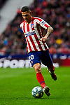 Victor Machin 'Vitolo' of Atletico de Madrid during La Liga match between Atletico de Madrid and RCD Espanyol at Wanda Metropolitano Stadium in Madrid, Spain. November 10, 2019. (ALTERPHOTOS/A. Perez Meca)