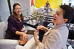 Chivas' guests at the Mauboussin jewelry store in Paris Champs-Elysées.