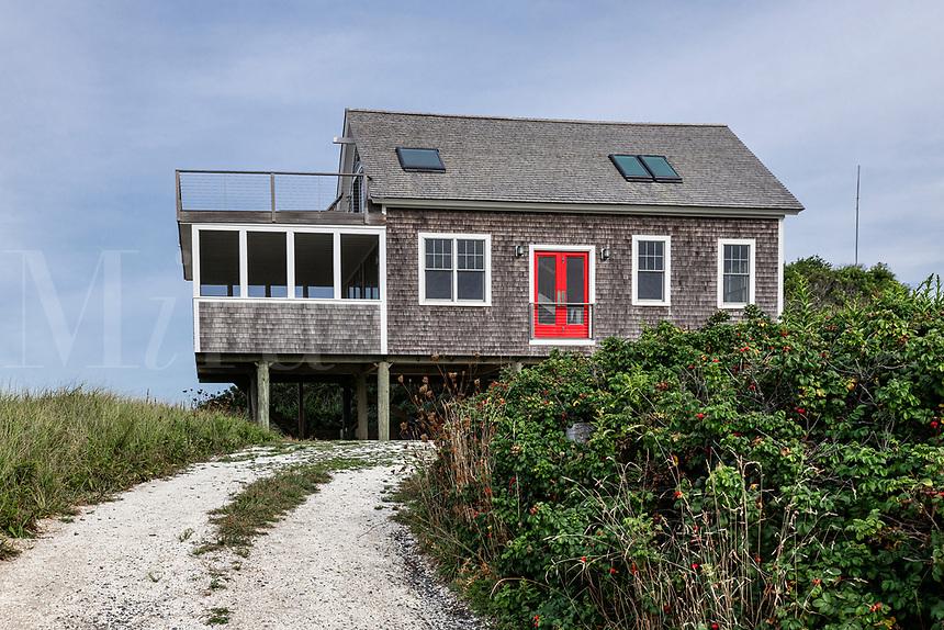 Rustic Cape Cod beach house.
