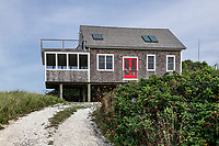 Rustic Cape Cod beach house.
