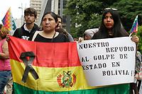 24.11.2019 - Ato em solidariedade ao povo Boliviano em SP