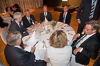 11-sept.-2013,Netherlands, Groningen,  Martini Plaza, Tennis, DavisCup Netherlands-Austria, Training,   Official Dinner, <br /> Photo: Henk Koster