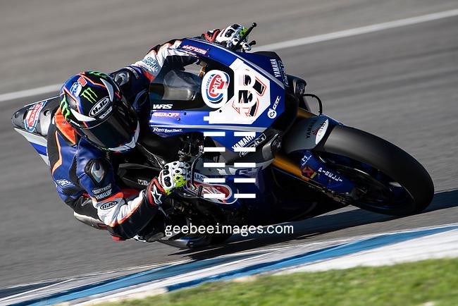 FIM WorldSBK Championship, Test, 28-29 November 2019, Jerez, Spain, Garrett Gerloff, Yamaha
