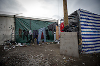 Calais Jungle Camp.<br />