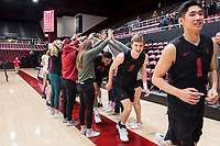 Stanford Volleyball M v Concordia University, February 22, 2020