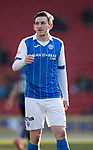 St Johnstone v Ross County…24.02.18…  McDiarmid Park    SPFL<br />Blair Alston<br />Picture by Graeme Hart. <br />Copyright Perthshire Picture Agency<br />Tel: 01738 623350  Mobile: 07990 594431