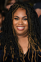 """Angie Thomas<br /> arriving for the London Film Festival screening of """"The Hate U Give"""" at the Cineworld Leicester Square, London<br /> <br /> ©Ash Knotek  D3452  20/10/2018"""