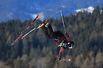 FIS Free Ski World Cup 2019 Slopestyle Event  in Seiser Alm on January 25, 2019; Mats F Lilland (NOR) losing a ski