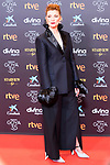 Actress Najwa Nimri attends the red carpet previous to Goya Awards 2021 Gala in Malaga . March 06, 2021. (Alterphotos/Francis González)
