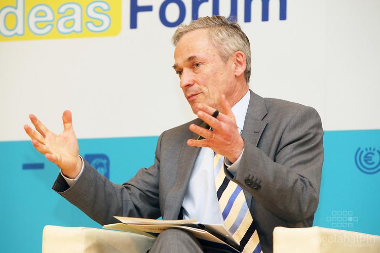 Richard Bruton speaking at the European Economic Forum - Dublin Castle - 19th & 20th April 2012
