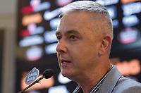São Paulo (SP), 06/01/2020 - Futebol-Corinthians - Tiago Nunes (técnico) do Corinthians. Corinthians dá início à preparação da temporada 2020 no CT Joaquim Grava, na tarde desta segunda-feira (06), na cidade de São Paulo (SP).