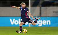 WIENER NEUSTADT, AUSTRIA - NOVEMBER 16: Tim Ream #13 of the United States warming up during a game between Panama and USMNT at Stadion Wiener Neustadt on November 16, 2020 in Wiener Neustadt, Austria.