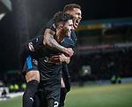 27.02.18 St Johnstone v Rangers:<br /> Sean Goss celebrates his goal with James Tavernier